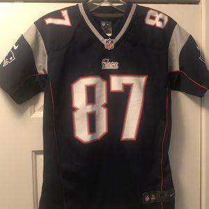 the best attitude cc166 9ed05 Nike Patriots Rob Gronkowski Jersey Youth Medium